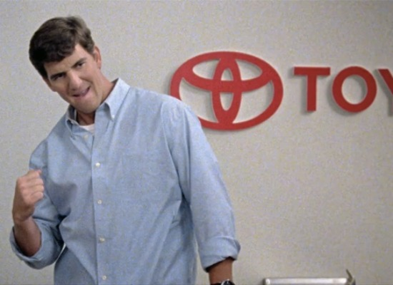 Eli Manning Toyota