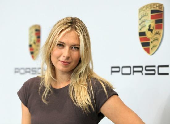 Maria Sharapove Porsche