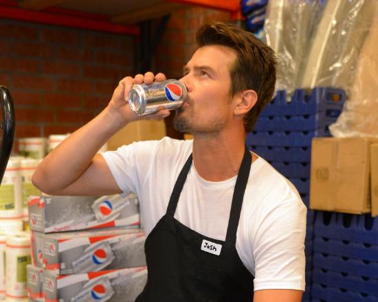 Josh Duhamel Pepsi