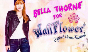 Bella Thorne Wallflower Jeans