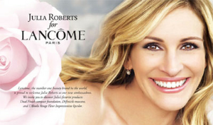 Julia Roberts Celebrity Spokesperson