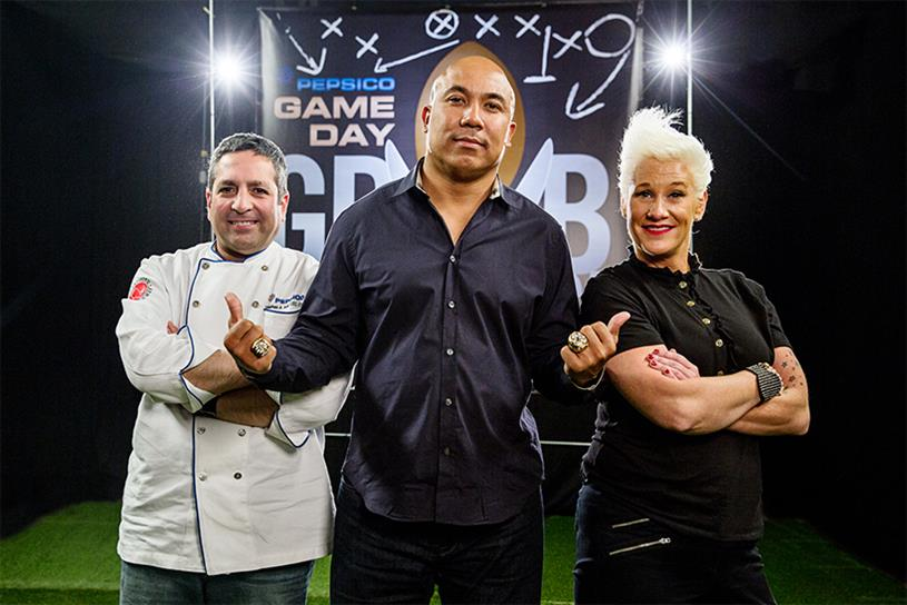 Anne Burrell's Game Day Lineup